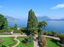 Isola的Bella公园 Lago Maggiore 意大利 图库摄影