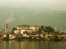 Isola Сан Giulio, Италия Стоковые Фотографии RF