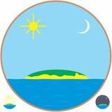 Isola Fotografia Stock Libera da Diritti