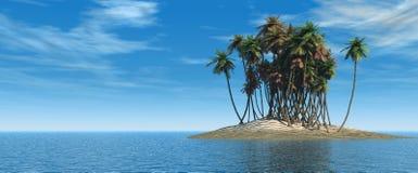 Isola. Fotografie Stock