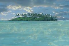 Isola abbandonata Fotografia Stock