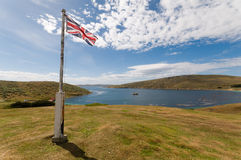 Isola ad ovest nelle Malvinas Immagine Stock