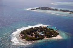 Isola all'Oceano Indiano Fotografie Stock