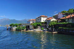 Isola Bella,斯特雷萨,马焦雷湖,意大利 新的成人 免版税库存图片