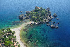 Isola Bella 3 panorámicos Foto de archivo libre de regalías