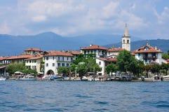 Isola Bella auf See Maggiore in Italien Stockbilder