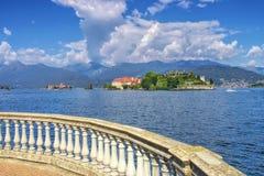 Isola Bella, Borromean Islands, Lago Maggiore, Piedmont stock images