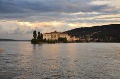 Isola bella, Borromeo palace. Lake (lago) Maggiore Stock Photo