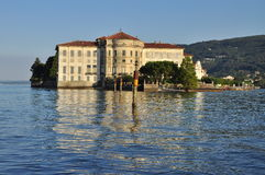 Isola bella, Borromeo palace. Lake (lago) Maggiore Royalty Free Stock Images