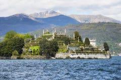 Isola Bella, the famous Island on Lake Maggiore. Stresa, Italy stock photos