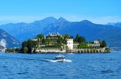 Isola Bella i Maggiore sjön royaltyfri bild