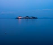 Isola Bella i sjön Maggiore Arkivbild