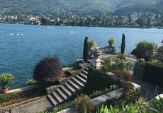Isola Bella island Royalty Free Stock Images