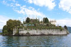 Isola Bella island on Lake Maggiore, Italy