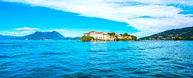 Isola Bella island in Maggiore lake, Borromean Islands, Stresa P. Iedmont Italy, Europe Stock Photography