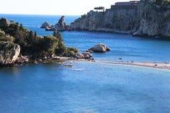 Isola Bella island, Sicily Royalty Free Stock Photo