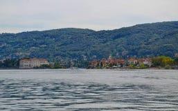 Isola Bella and Isola dei Pescatori - Italy Royalty Free Stock Image