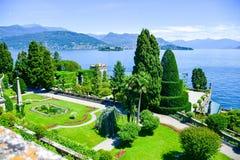 Isola Bella Italia Fotos de archivo