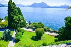 Isola Bella Italy Foto de Stock Royalty Free