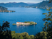 Isola Bella Jeziorny Maggiore Włochy Zdjęcia Stock
