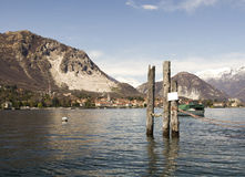 The Isola Bella in Lago Maggiore Royalty Free Stock Photos