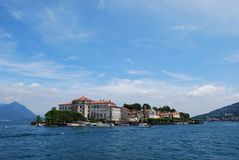 Isola Bella, lago Maggiore imagens de stock