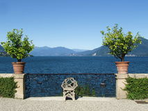 Isola Bella Lago Maggiore Italië Stock Afbeelding