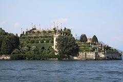 Isola bella, lago maggiore, Italien stockfotos