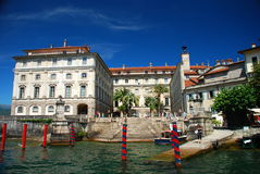 Isola Bella, lago Maggiore, Italy imagens de stock