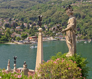 Isola Bella on the Lago Maggiore in Italy Stock Photos