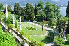 Isola Bella on the Lago Maggiore in Italy Royalty Free Stock Photo