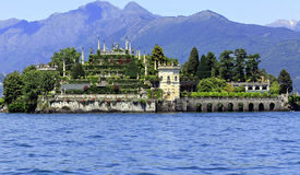 Isola Bella on lake Maggiore Stock Photos