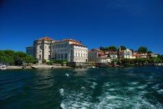 Isola Bella, Lake Maggiore. Borromeo palace Stock Photo
