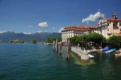 Isola Bella, lake Maggiore, Italien arkivbild