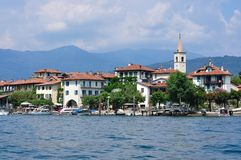 Isola Bella on lake Maggiore in Italy Stock Images