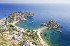 Isola Bella, Mazzaro-Taormina Sicily Italy Royalty Free Stock Photo