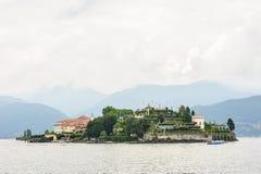 Isola Bella nel lago Maggiore Immagini Stock Libere da Diritti