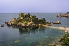 Isola Bella, Sicília foto de stock