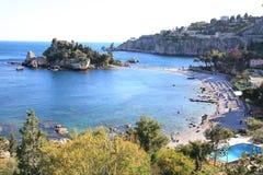 Isola Bella, Sicilia Imágenes de archivo libres de regalías