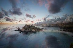 Isola Bella, Sicilia imagen de archivo libre de regalías