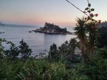 Isola bella sicilia stock photos