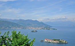 Isola Bella, sjö Maggiore, Stresa, Piedmont, Italien Fotografering för Bildbyråer