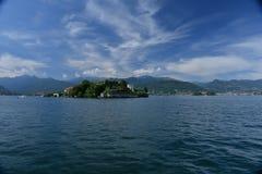 Isola Bella, Stresa, озеро - lago - Maggiore, Италия висеть садов Стоковое Фото