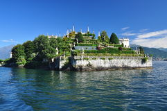 Isola Bella , Stresa, Lake - lago - Maggiore, Italy. Hanging gardens Royalty Free Stock Photos