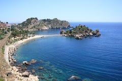 Isola Bella Taormina fotografía de archivo