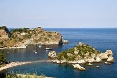 Isola Bella , Taormina, Sicily, Italy Stock Photo