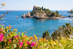 Isola Bella in Taormina Royalty Free Stock Photo