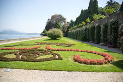 Isola bella villa and garden Royalty Free Stock Images