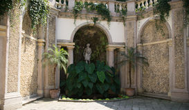 Isola bella villa and garden Stock Images