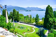 Isola Bella Włochy Obrazy Royalty Free